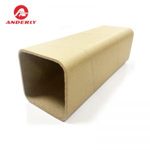 Square paper tube