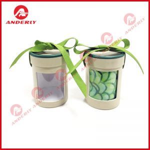 Paper Tube with PVC Window